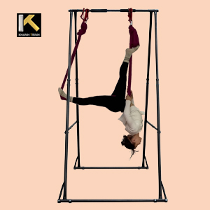 aerial yoga trapeze stand