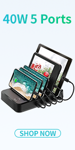 tablets charging station