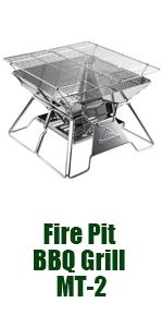 wood stove camping grill