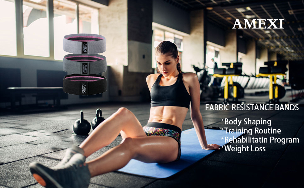 Fabric Workout Loop Bands