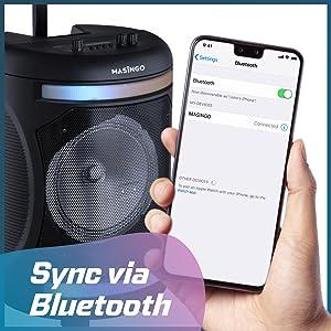 karaoke machine masingo