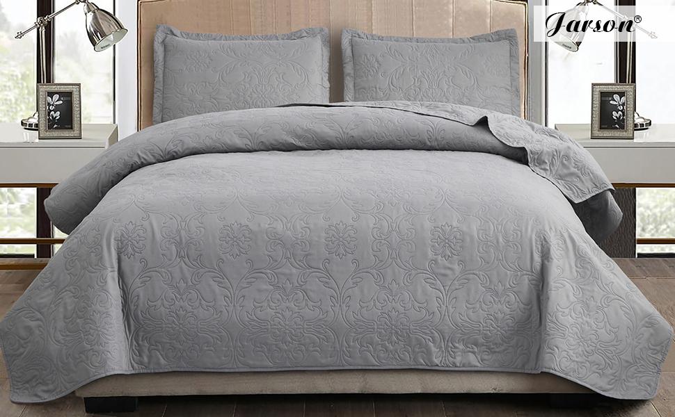 Jarson gray quilt