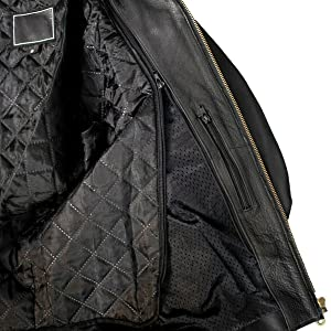 leather women men motorcycle black bomber zip upfashion jacket  mens