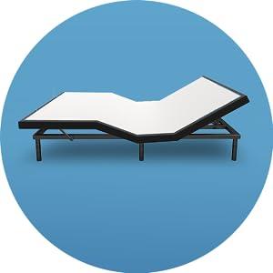 e4 adjustable bed frame
