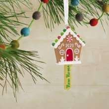Gingerbread House Christmas Ornament Meaningful Moments