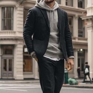 mens gym fahsion hoodie