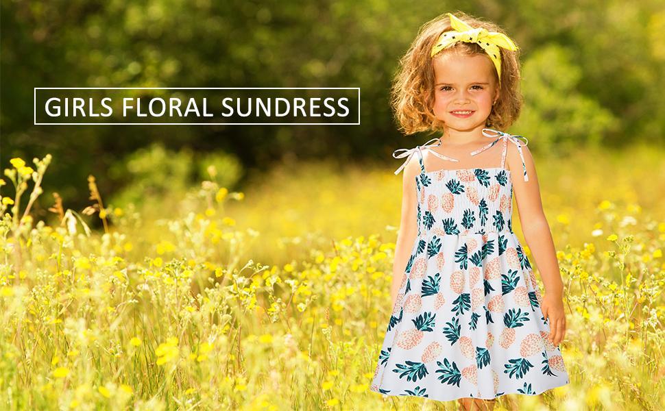 toddler girl sundresses casual summer dresses little girls beach holiday dress for toddler girls