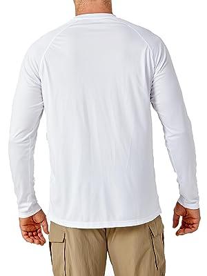 running jogging hiking climbing fishing gym workout tees shirts pullovers tops rash guard for men