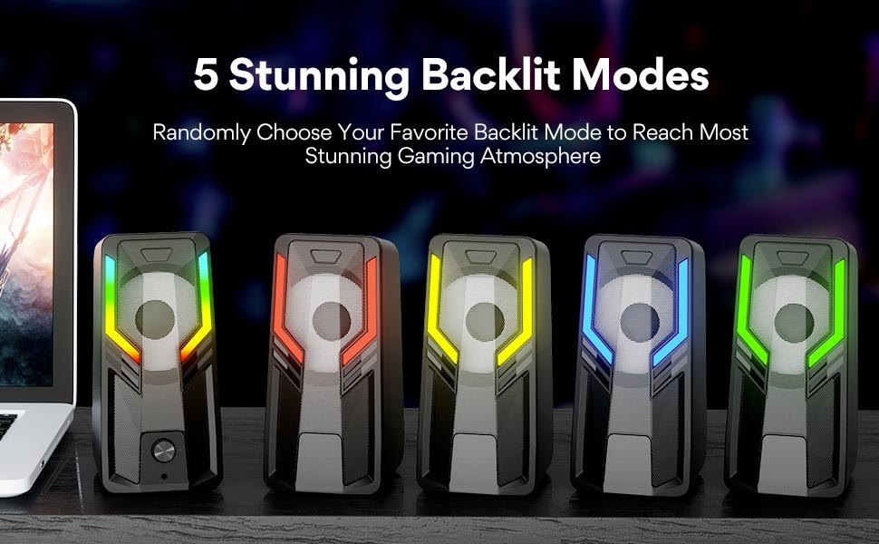 5 Stunning Backlit Modes