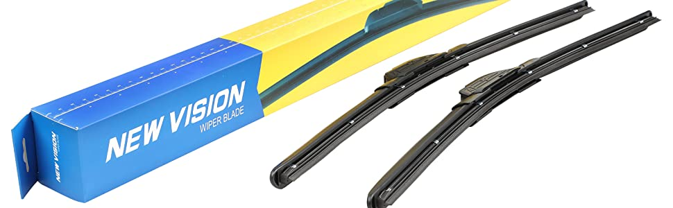 New Vision Windshield Wiper Blades J Hook Series
