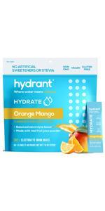 hydrant orange mango