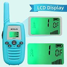 walkie talkies for kids with LCD Display