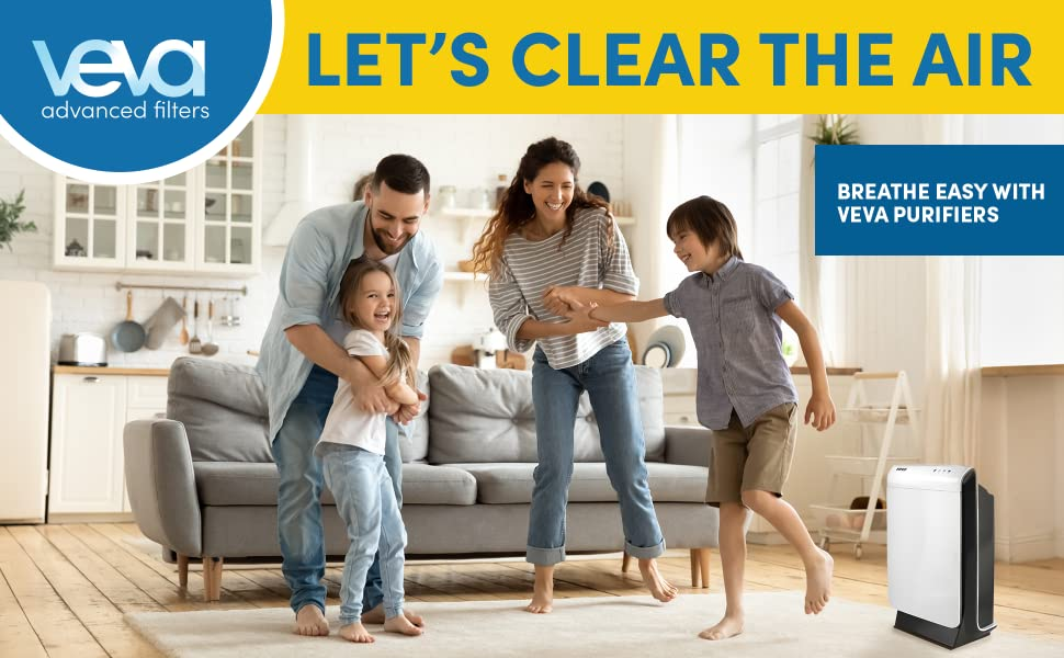 Breathe Easy With Veva Purifiers