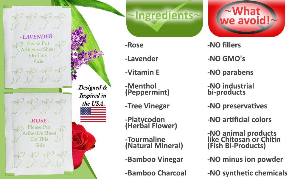 ingredients no gmos no preservatives bamboo vinegar no fillers