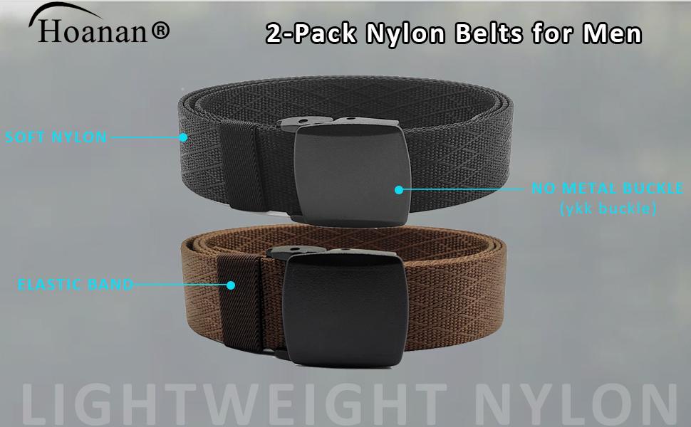 no metal belt