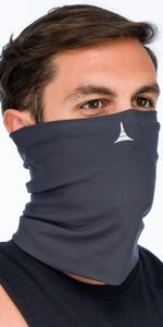 fleece neck gaiter face mask