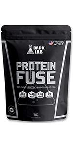 protein fuse suplemento para ganho de massa ou bariatrica