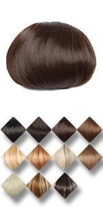 hair bun hair piece