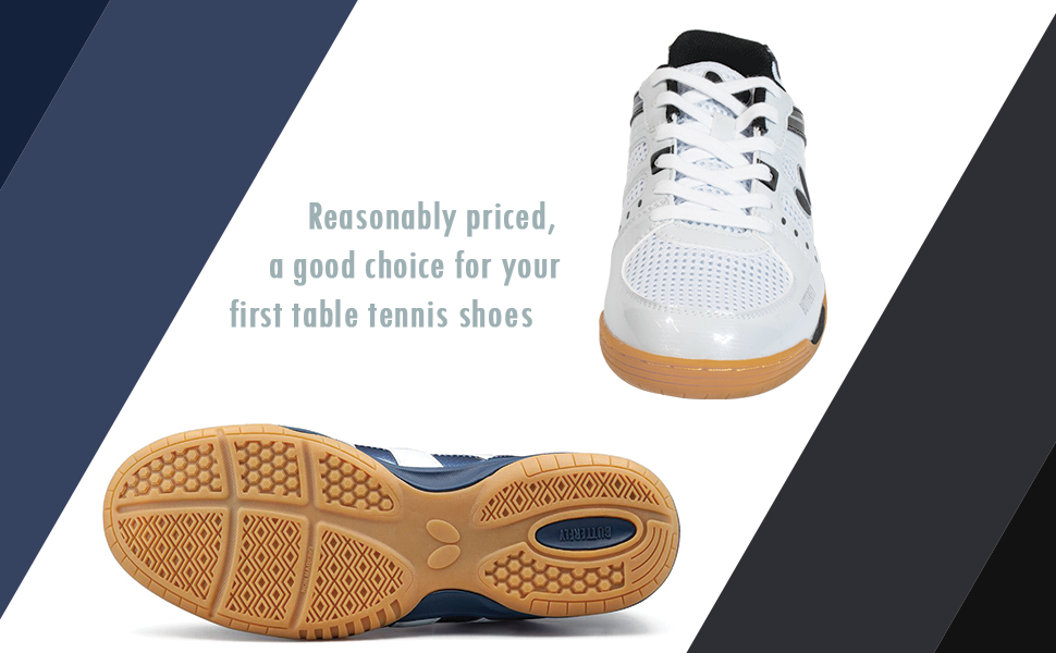 First Table Tennis Shoes?... Butterfly Lezoline Unizes are a Good Choice