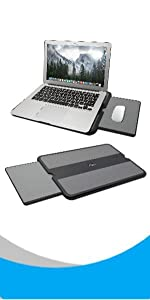 laptop lap pad with mouse pad