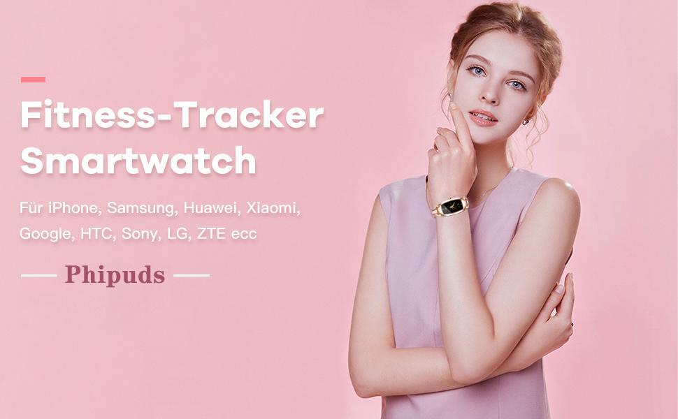 Smartwatch Damen,IP67 Wasserdicht