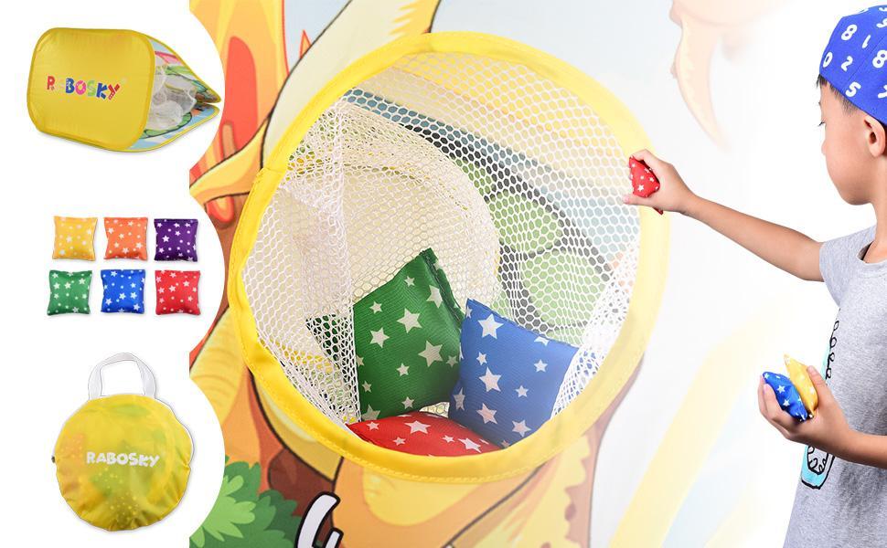 rabosky cornhole game for kids