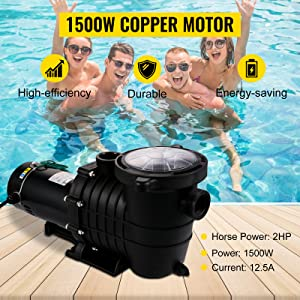 in/above ground pool pump