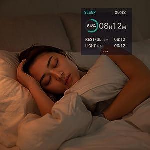 B57 smart watch for men sleep monitor