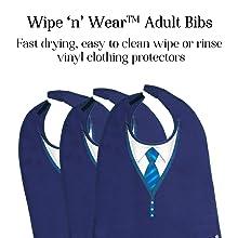 Classy Pal Wipe 'n' Wear Tie Design