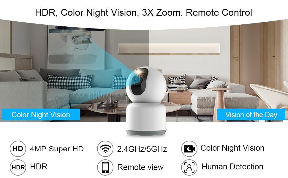 4MP progressive low-light image sensor
