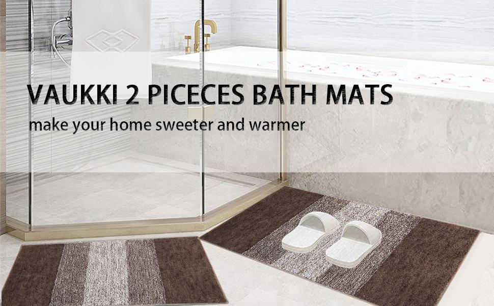 bath mats set of 2