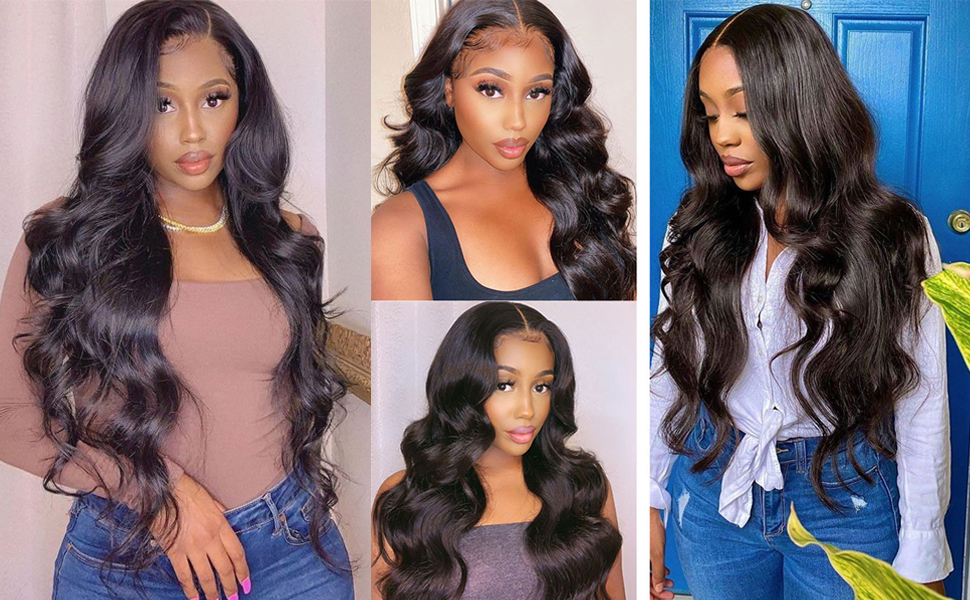 lace front wigs body wave
