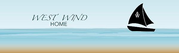 West Wind Home with Logo Header