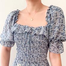 square neck dress for women
