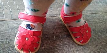 baby girl dress shoe