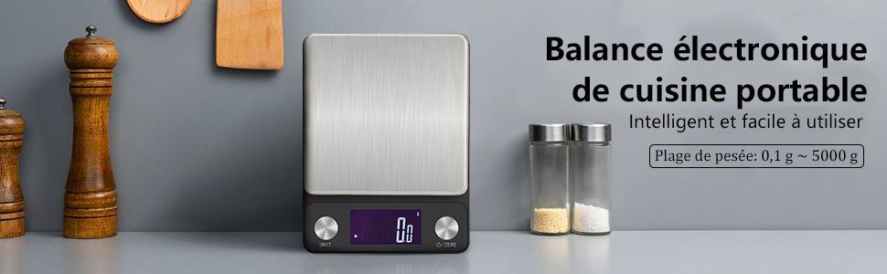 Balance rechargeable portable