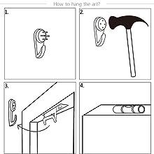 easy to hang