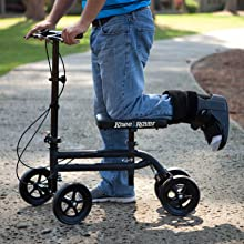 KneeRover Economy Knee Scooter is lightweight and heavy duty