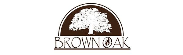Brown Oak Sandals