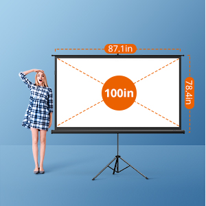 Tripod Projection Screen  Build Your Home Theatre