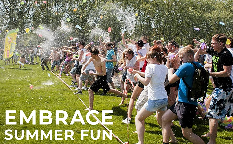 Embrace Summer Fun with Biawily Water Balloons Battle