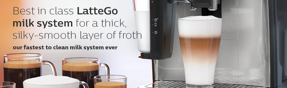 LatteGo milk system