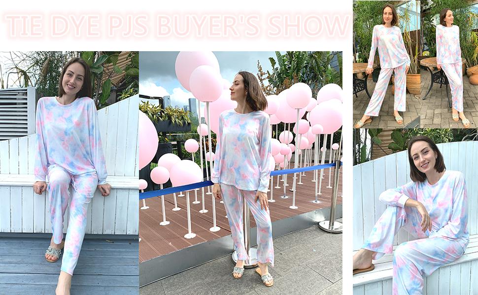 Tie Dye Pajama Buyer's Show