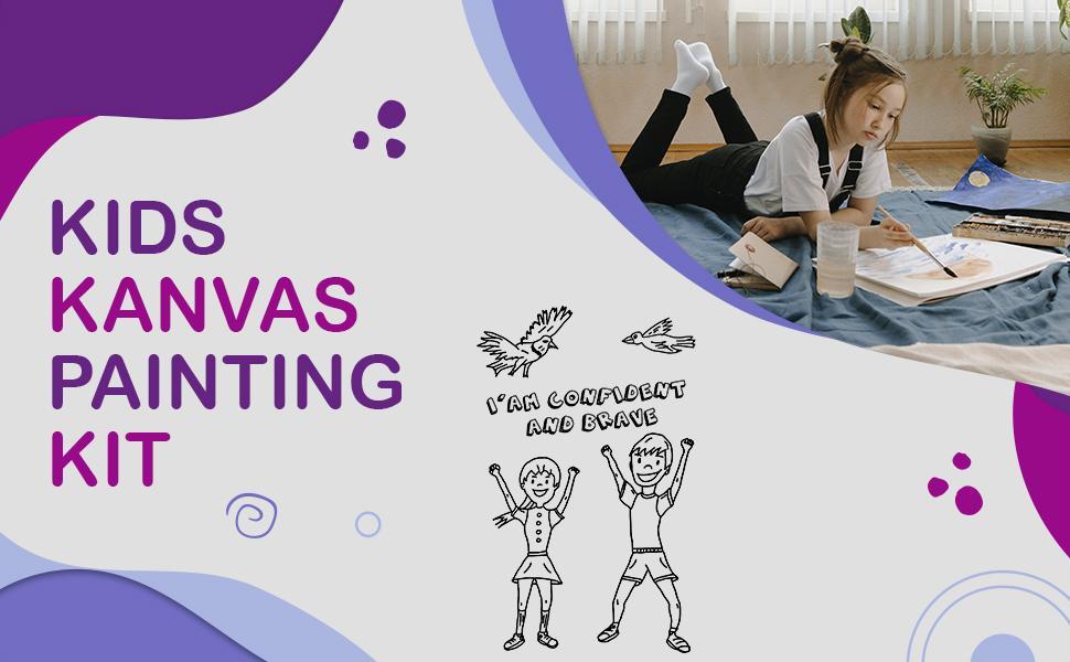 Kids Canvas Painting Kids Arts amp; Craft