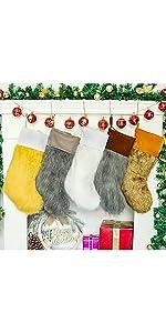 Fur Stockings set of 5
