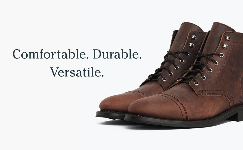Comfortable, Durable, Versatile