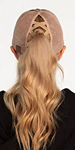 Criss-Cross hat