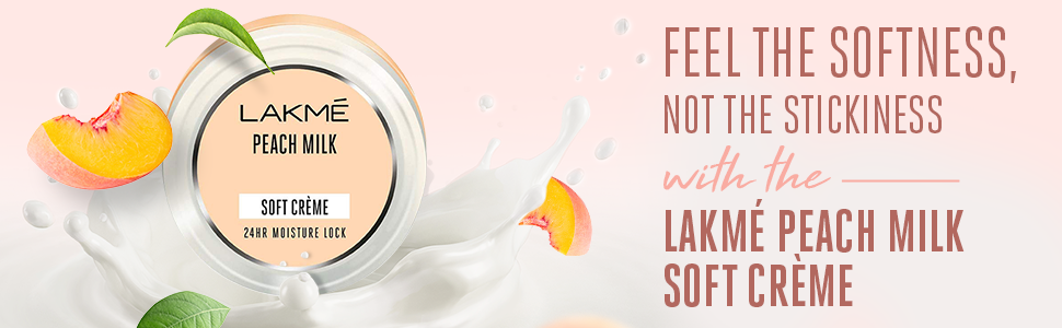 Lakmé Peach Milk Soft crème