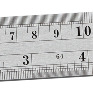 NOKKO stainless steel rulers - Accurate imperial and metric measurements.