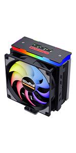 RGB cooling fan